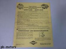 Briggs & Stratton Betriebsanleitung Wartung 170700 bis 170799 190700 bis 190799