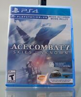 Ace Combat 7 Skies Unknown PS4 (Sony Playstation 4, 2019) Complete Clean