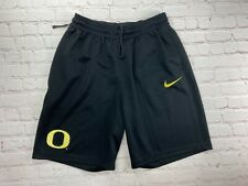 New listing Oregon DUCKS Basketball TEAM ISSUED Nike Dri-Fit Workout GYM SHORTS  Men's LG