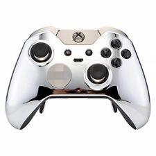 CUSTOM Chrome Silver  Microsoft Xbox One Elite Wireless Controller UNMODDED