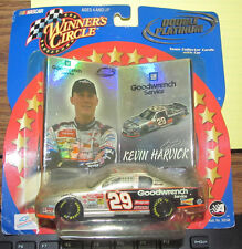 NASCAR DIECAST WINNER'S CIRCLE DOUBLE PLATINUM KEVIN HARVICK 1:43 2001 NRFB