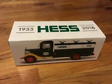 BRAND NEW HESS 85TH ANNIVERSARY COLLECTOR'S EDITION FIRST HESS TRUCK 1933