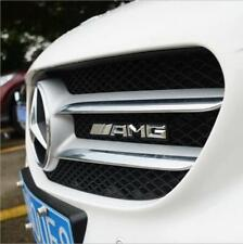 Mercedes-Benz Chrome A.M.G Grill Front Badge Fit CLK CLS SLK C E S CL SL ML