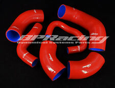 Silicone Intercooler/Radiator Hose / Pipe For Mitsubishi EVO7 8 9 CT9A 4G63 Red