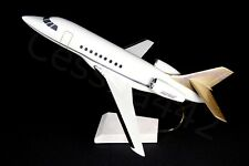 Desk Top Aviation Falcon Aircraft Model 1:44 Caesar's Palace N21HE RARE Case