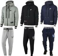 Nike Air Mens Full Tracksuit Set Fleece Hoodie Tracksuit Bottoms Hoody Joggers