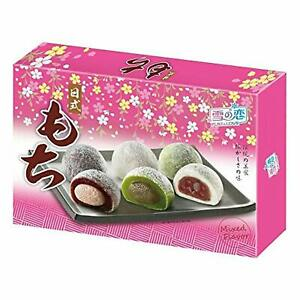 Yuki & Love Japanese Style Mochi Mixed Flavour (12 Pieces) 300g