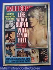 Weekend Magazine - Connie Stevens, Eddie Fisher, John Spencer   - 14th July.1971