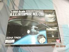 BANDAI STAR TREK 1/850 USS ENTERPRISE NCC-1701 KIT BOX DAMAGED