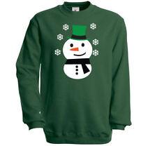 Cotton Snowman Jumpers & Cardigans for Men