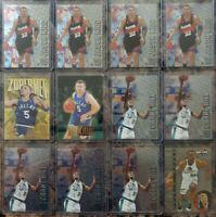 JASON KIDD GRANT HILL LOT OF 12 . 96-97 FLEER METAL . SKYBOX Z-FORCE . NBA HOOPS