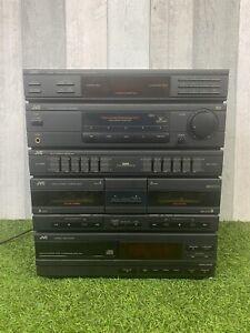 Vintage Retro JVC CA-E33BLBK Hifi Music Centre CD/Radio/Cassette Player
