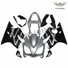 Fit for Honda 2001-2003 CBR600 F4I Plastic Silver Injection Fairing ABS sC0