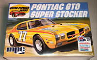 MPC 1970 Pontiac GTO Super Stocker stockcar model car kit 1:25 scale 939