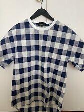 3.1 phillip lim Checkered (size S) Cotton Stretch Tshirt