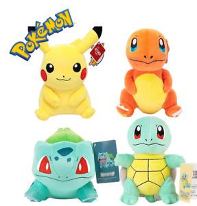 Official Pokemon Soft Toy Plush (Pikachu, Charmander, Squirtle, Bulbasaur)