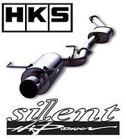 HKS silent Hi-Power cat back exhaust for Supra JZA80 (2JZ-GTE)