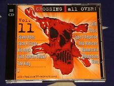 CROSSING ALL OVER vol.11  2CD  2000  RAMMSTEIN MOBY HIM MUSE