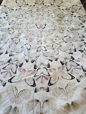 Pottery barn teen duvet cover and pillowcase twin.. butterflies!