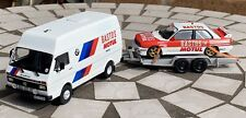 IXO 1/43 VW LT45 Prodrive BMW M3 E30  Assistance Van Rally, Inc Trailer & M3