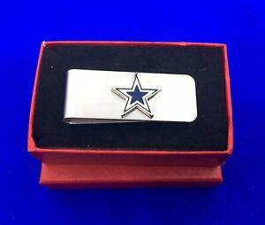 Dallas Cowboys Football Money Clip Cowboys Star Fan Gift Holder (New)