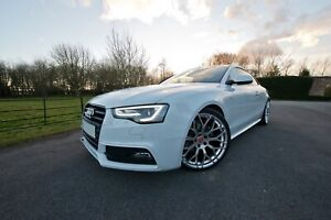 """Raywell Design 20"""" JRR Alloy Wheels for Audi A5/S5/RS5 Hyper Silver"""