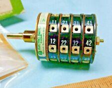 308 0653 Onan Switch Electroswitch 31904nx Nos