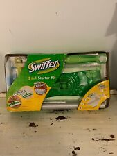Swiffer 3 In 1 Starter Kit Clean Kitchen Bathroom Home (SH19)