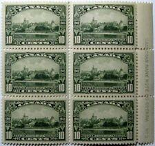 1935 CANADA #215: F/VF MNH 'Windsor Castle' - LR Plate 2 Block of 6