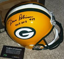 GREEN BAY PACKERS Dave Robinson 89 AUTOGRAPHED HOF 2013 SIGNED FS HELMET WSC COA