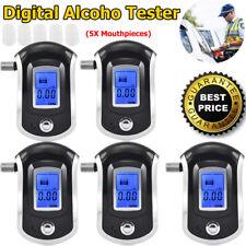 Breathalyzer Alcohol Tester Lcd Digital Breath Analyzer Detector Police Portable