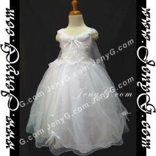Robes blanc sans manches pour fille de 5 à 6 ans