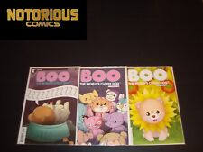 Boo The World's Cutest Dog 1-3 Complete Comic Lot Run Set Collection