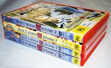 AVATAR the legend of Aang BOOK 1 VOLUME1, 2,3,4. BOOK 2 VOLUME 1. DVD'S.