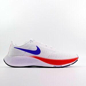 Nike Air Zoom Pegasus 37 USA Red White Blue Running Shoes DA1885-100 Size 8.5