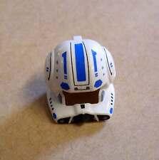 Lego casco para Star Wars Clone piloto personaje azul blanco abierto visera cascos nuevo