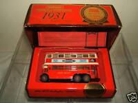 """MATCHBOX  MODEL No. Y-10 1931 AEC TROLLEYBUS """"DIDDLER""""   MIB"""