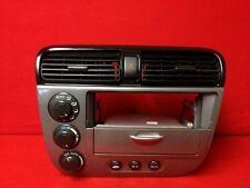 2001 2002 2003 2004 2005 HONDA CIVIC CLIMATE CONTROL RADIO CD PLAYER BEZEL OEM
