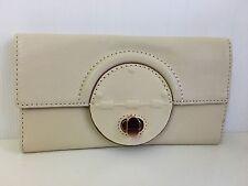 Mimco Leather PLATEAU LARGE Wallet Clutch Purse BNWT RRP$199 Linen