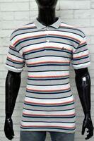 LEVI'S STRAUSS  Polo  Uomo Taglia Size XL Maglia  Righe Manica Corta Shirt Man 3