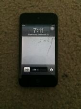 Apple iPod touch 4th Generation Silver and Black (32 GB)