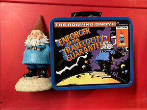 Travelocity Garden Gnome & Tin Lunchbox - New Promotional
