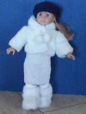 American Girl Kirsten doll pleasant company with winter outfit with hat & boots