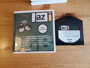 5x 1GB JAZ Disks - PC Formatted (USED)