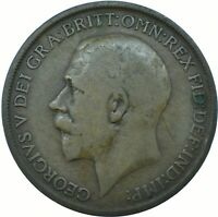 ONE PENNY COIN - GEORGE V.  CHOOSE THE DATE!     ONE COIN/BUY!