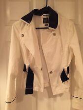 Armani Exchange White Denim Long Sleeve Jacket Size Small