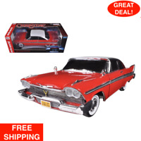 "1958 Plymouth Fury ""Christine"" Night Time Version 1/18 Diecast Model Car By Auto"