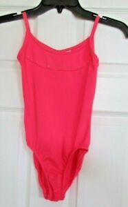Freestyle® by Danskin® Girls' Dance gymnastics one piece - Pink Medium 7/8