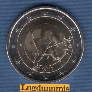 2 Euro Commémo Finlande 2017 Le Corbeau Nature Finlandaise – Finland