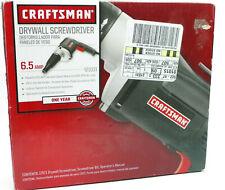 Craftsman Drywall Screwdriver 6.5 Amp NEW FREE SHIPPING